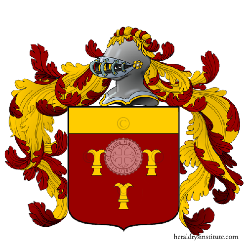 Coat of arms of family Pillani