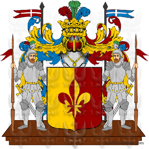 Coat of Arms of family Mellegrino