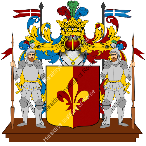 Coat of Arms of family Sanpellegrino