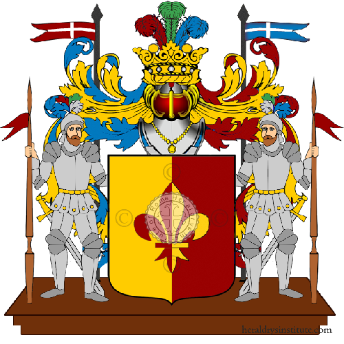 Coat of arms of family Dorrea