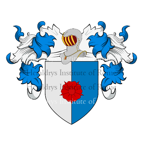 Coat of Arms of family Vito (De o Di)
