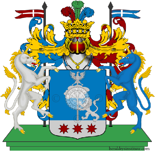 Coat of Arms of family Sciaccatano