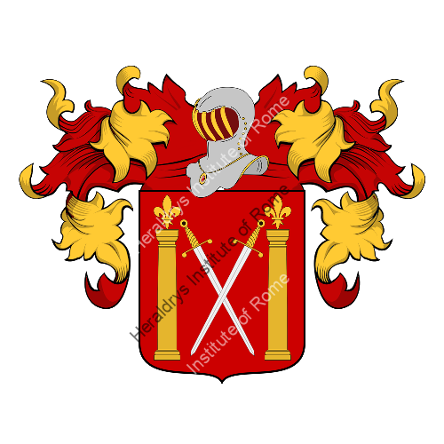 Coat of Arms of family Colocucci