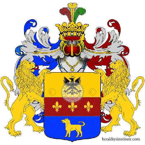 Coat of Arms of family Valeni