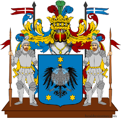 Coat of Arms of family Agrò