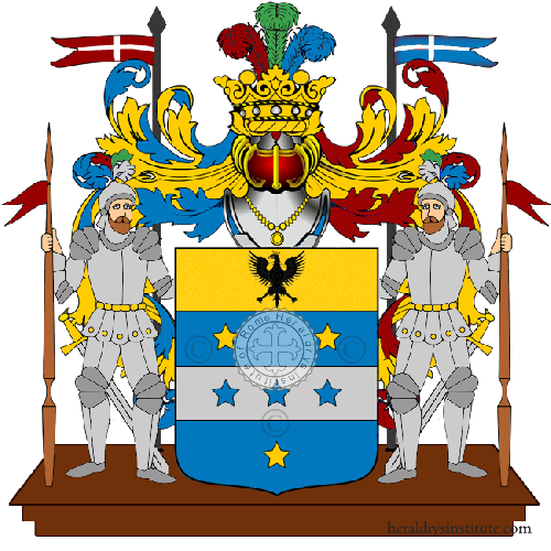 Coat of Arms of family Porticelli