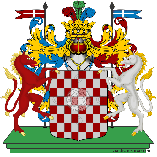 Coat of Arms of family Portuso