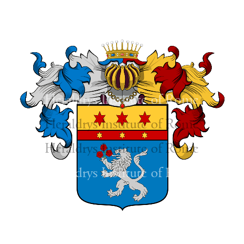 Coat of Arms of family Derbini