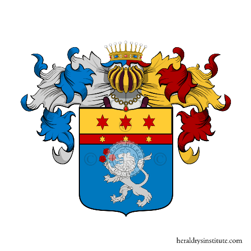 Coat of Arms of family Stefenine