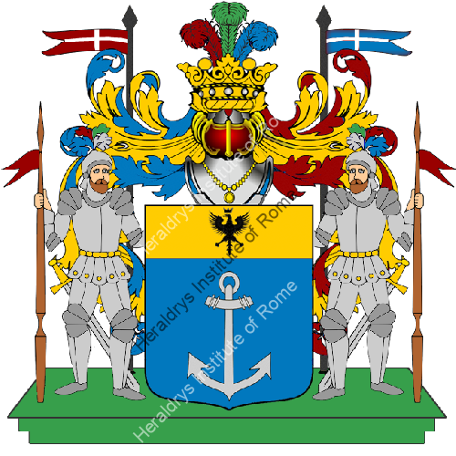 Coat of Arms of family Scoscia