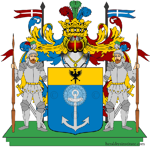 Coat of Arms of family Soscia