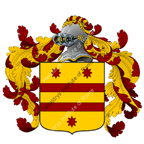 Coat of Arms of family Serretelli