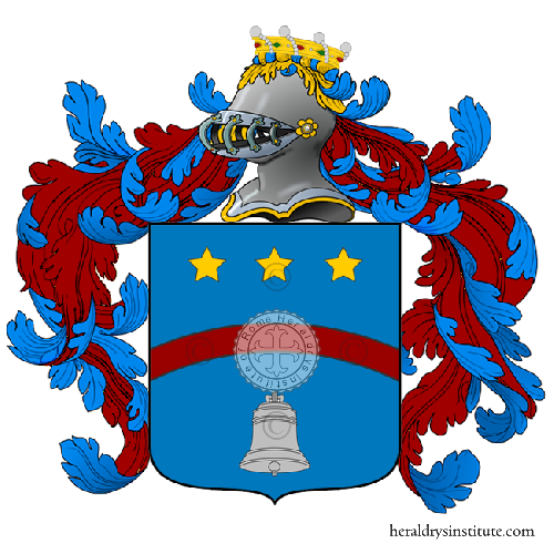 Coat of arms of family Luccaro