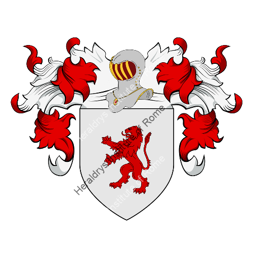 Coat of Arms of family Zuccolella