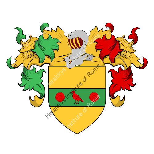 Coat of Arms of family Bettignoli, Bressan
