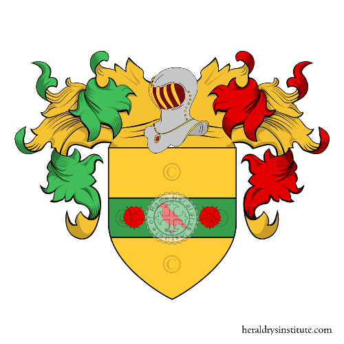 Coat of Arms of family Tanco